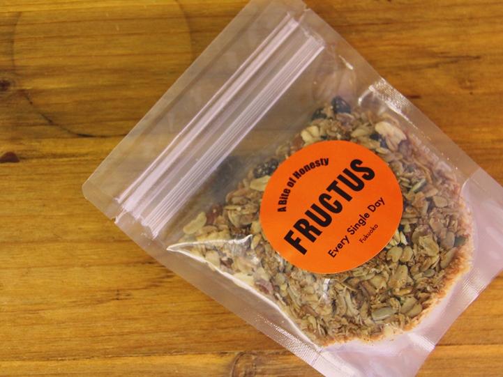 FRUCTUS グラノーラ 透明 パッケージ 袋