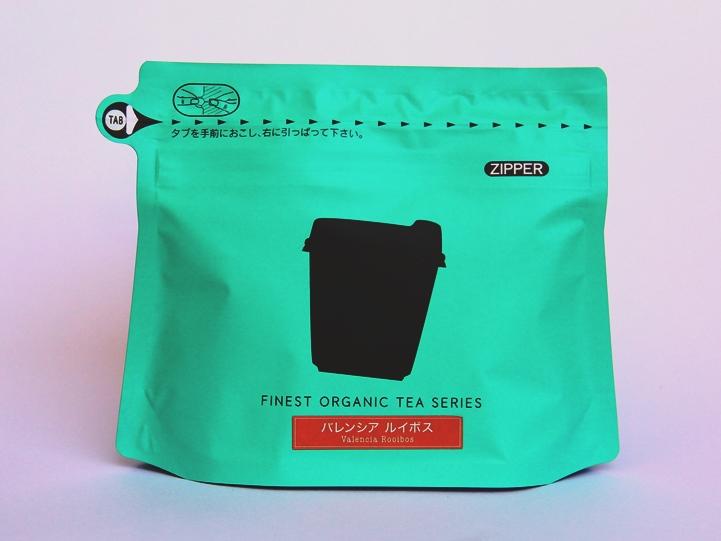 リラクティーニューヨーク 紅茶 パッケージ エメラルドグリーン