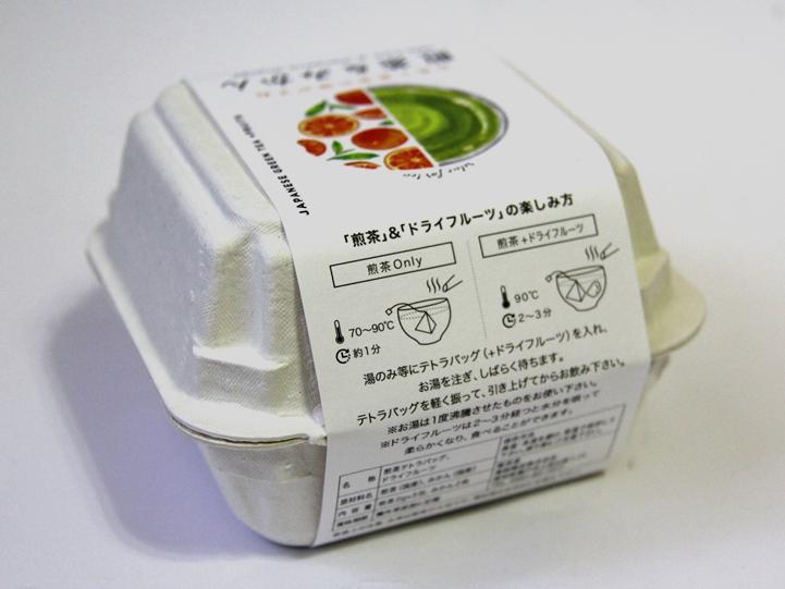 たまごパック パルプ パッケージ ギフト 緑茶